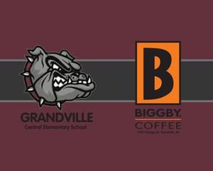 Central Elementary Biggby Mug Design