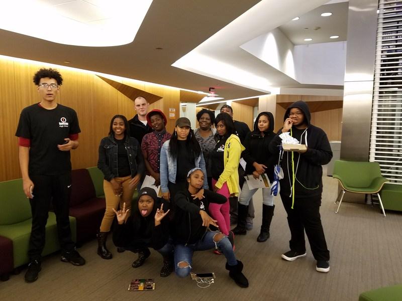 Invictus High School Students Field Trip photo