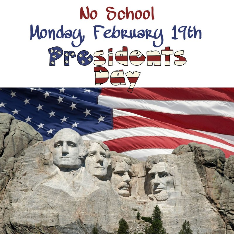 President's Day - No School - Monday, February 19th Thumbnail Image