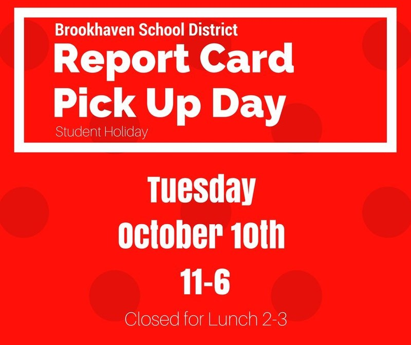 Report Card Pick Up Day Thumbnail Image