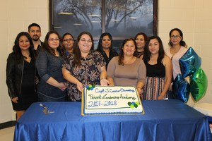 Pictured are the graduates of the Castro Parent Leadership Academy are; Cinthia Cabrera, Pilar Castillo, Nellie Chavez, Alma Dominguez, Amy Garcia, Beatriz Garza, Saira Gutierrez, Diego Gutierrez, Teresa Ramirez and Maria Vasquez.