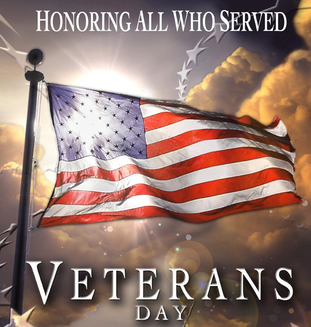 Veteran's Day Recognition Mass on Sunday, November 11 at 5:00pm Featured Photo