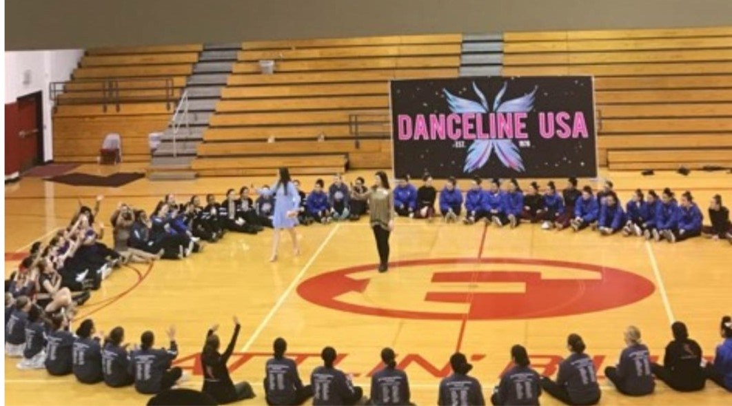 Wranglerettes at Danceline Competition in Feb.