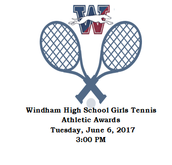 WHS Girls Tennis Team Athletic Awards Thumbnail Image