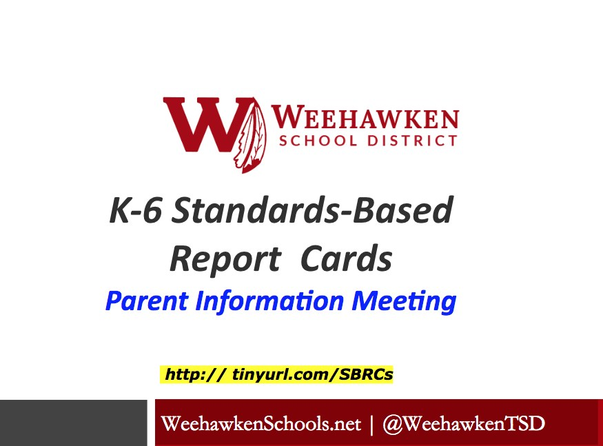 Standards Based Report Card Presentation