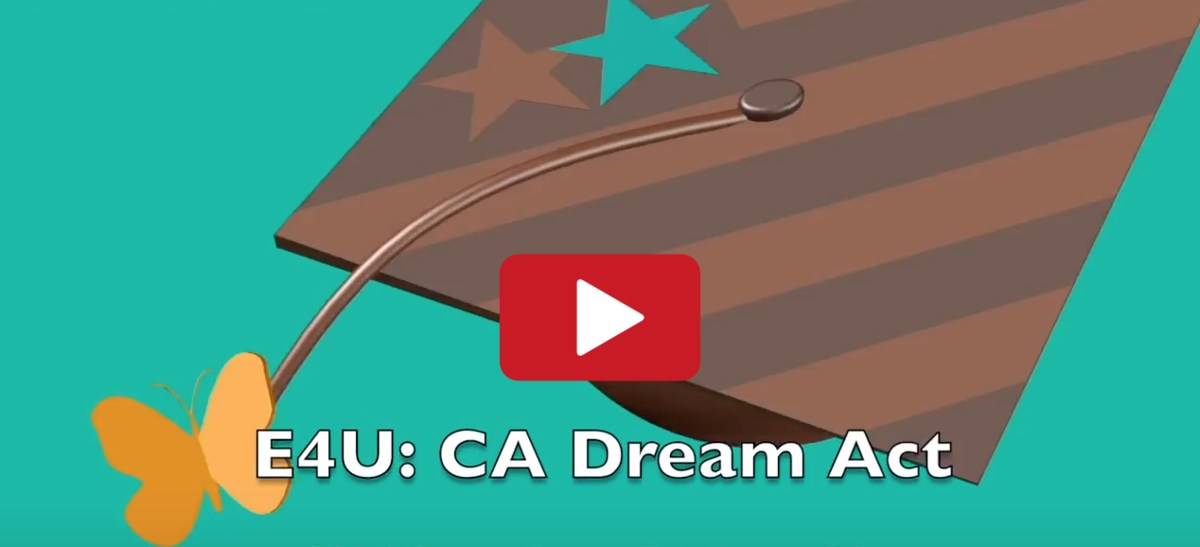 Image of YouTube video about the Dream Act