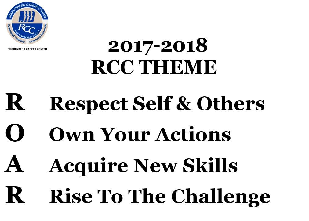 RCC 2017-2018 Theme