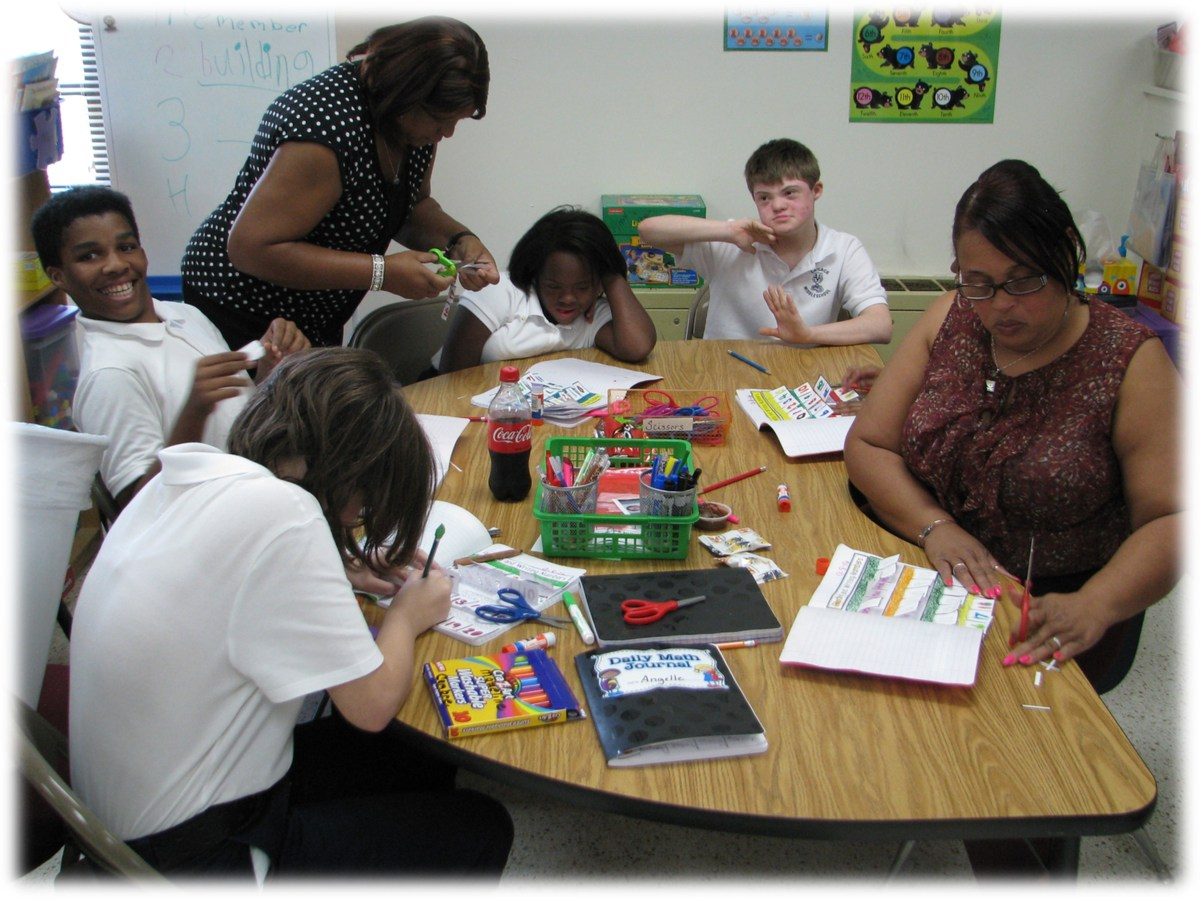 Special education classroom