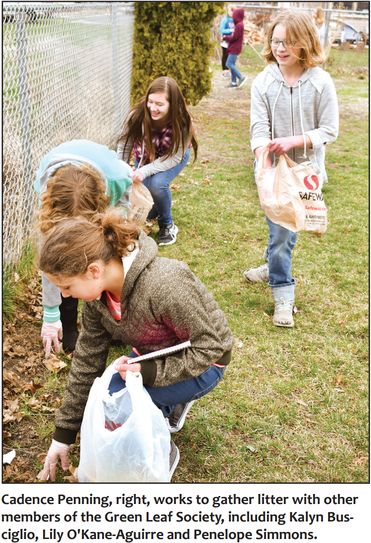 Sixth-graders form Green Leaf Society to tackle trash problem Featured Photo