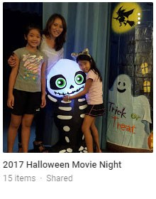 Halloween Movie Night Pictures