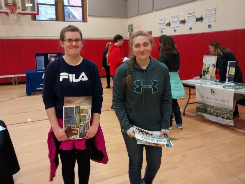 Kesh Students at the CG College Fair!