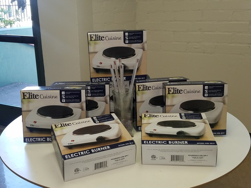 The Science Lab Receives New Hot Plates and Thermometers! Thumbnail Image