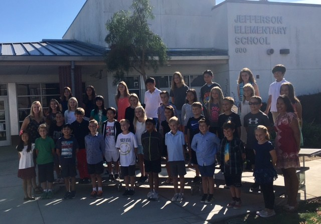 Yearbook Class Photo 2017-2018