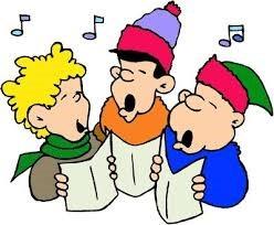 carolers singing