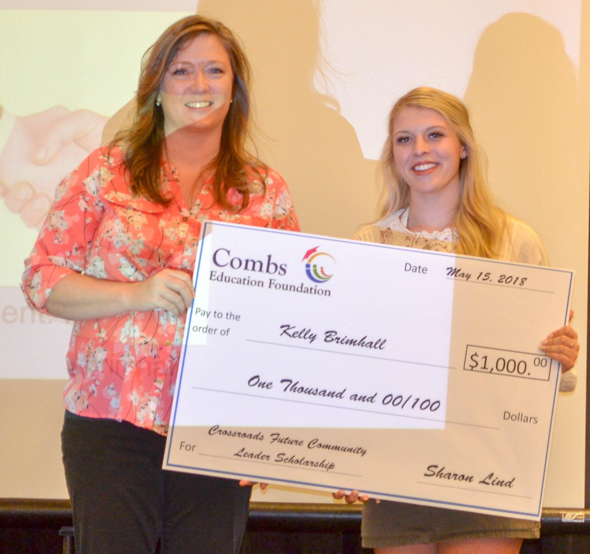 Crossroads Future Community Leader Scholarship Awardee