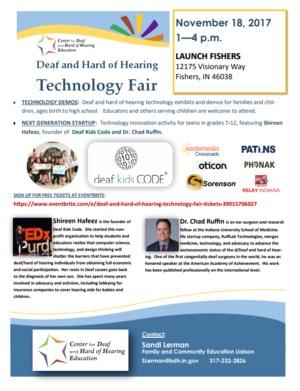 Tech Fair Flyer jpeg form