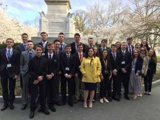 Knoch Youth and Government in Harrisburg