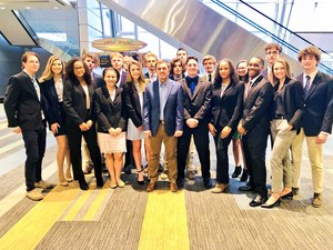 The SHS DECA team at States in VA Beach
