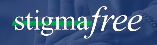 image with words: stigma free