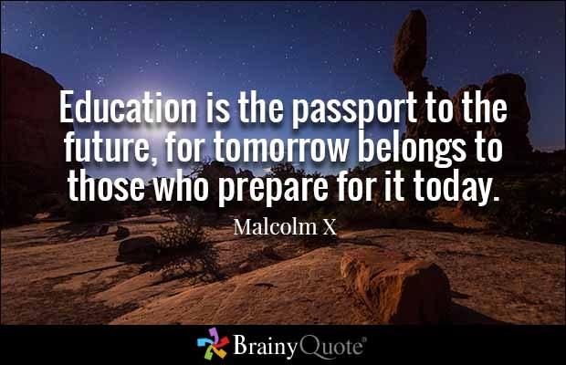 Malcom X quote