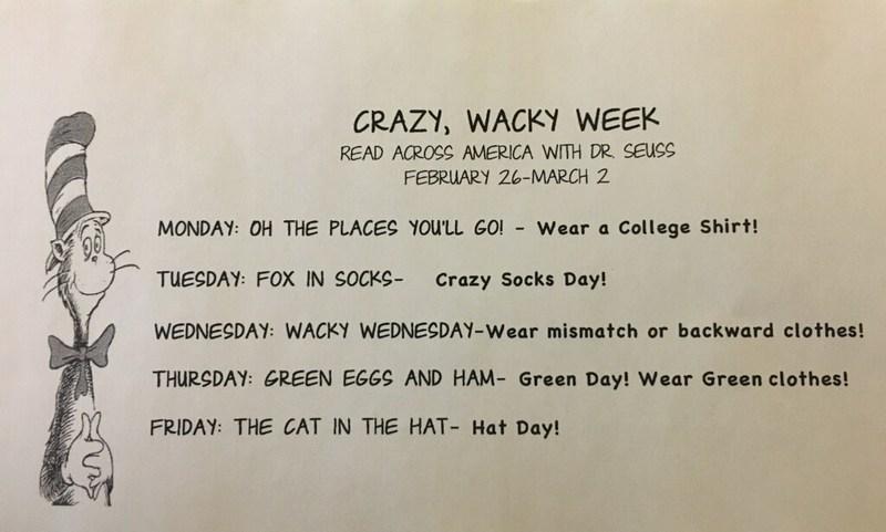 Dr Seuss Week