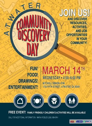 Community Discovery Day Flyer