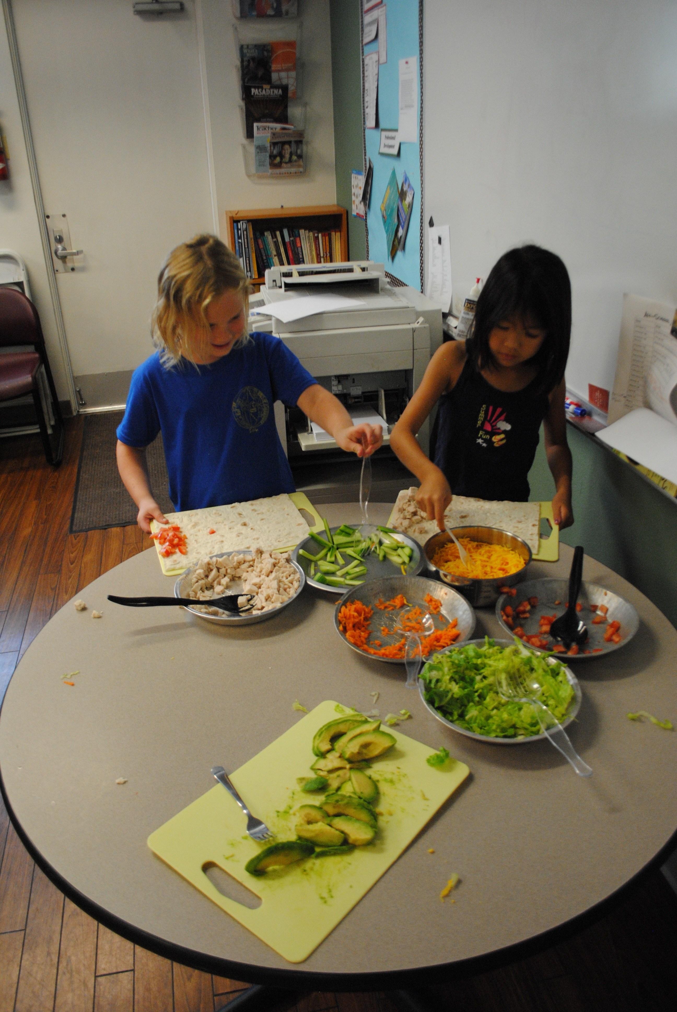 Summer Kids in the Kitchen