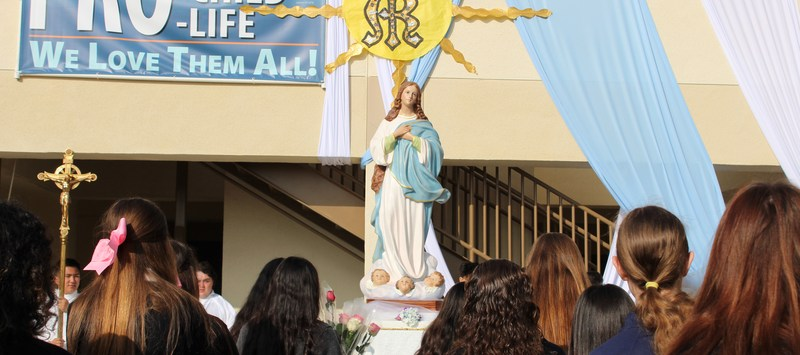 MSHS Celebrates Our Lady of Fatima Featured Photo