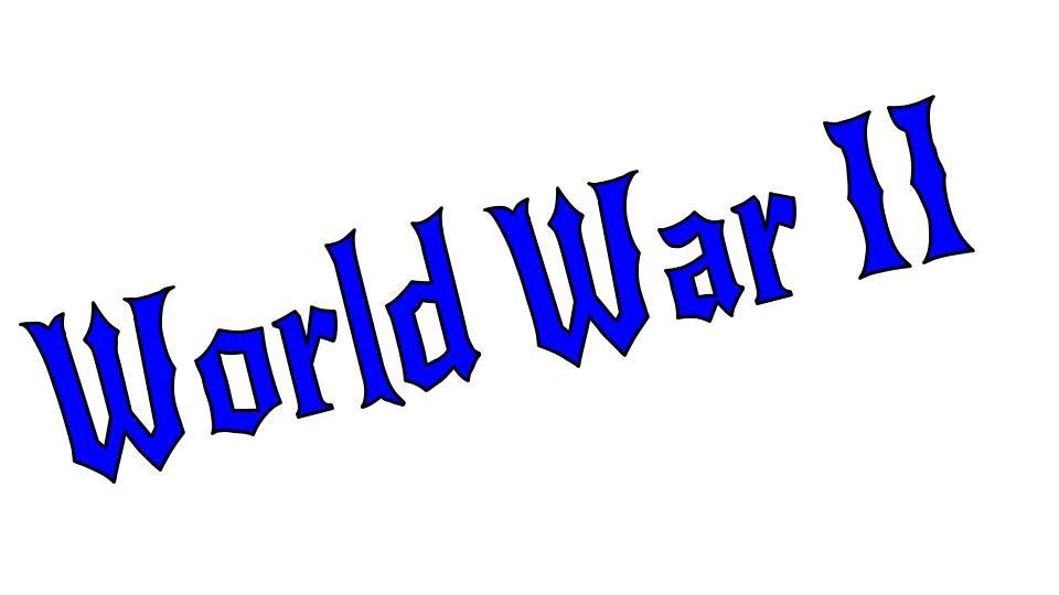 World War 2 Title Image