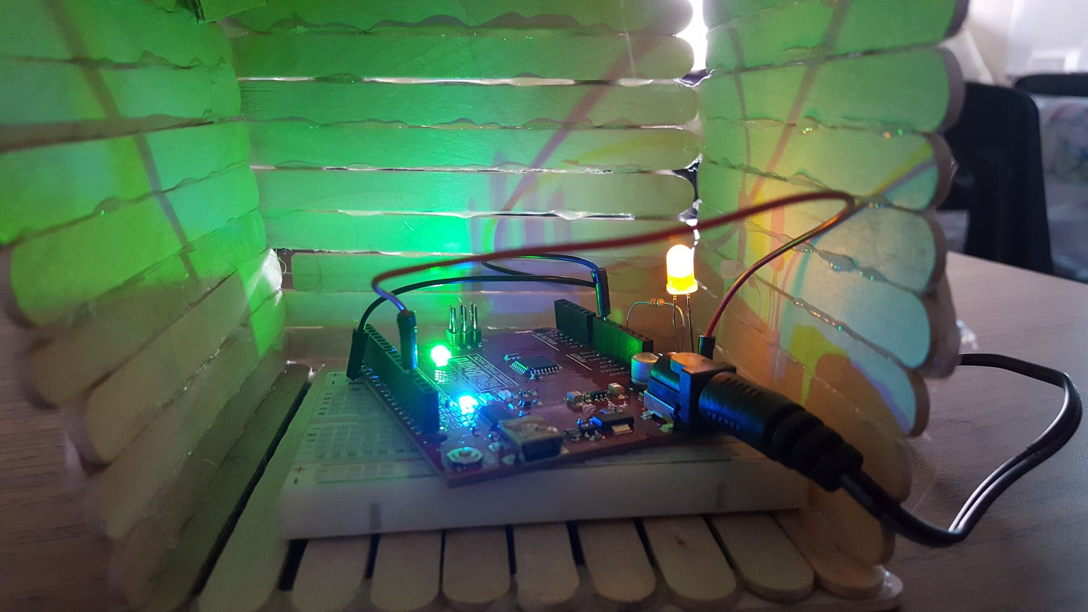 Light Sculpture using RedBoard Arduino