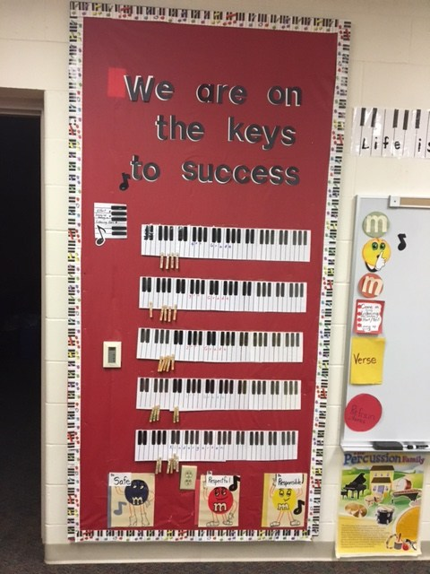 Students on the keys to success!