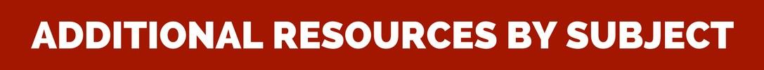 Resource Links for Website