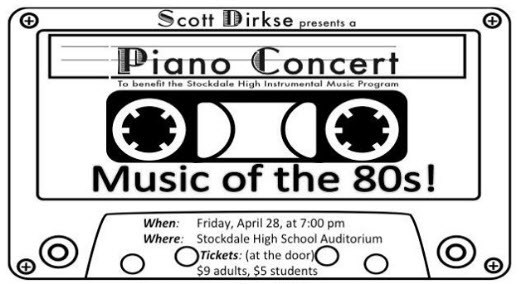 Music of the 80's! A Piano Concert Thumbnail Image