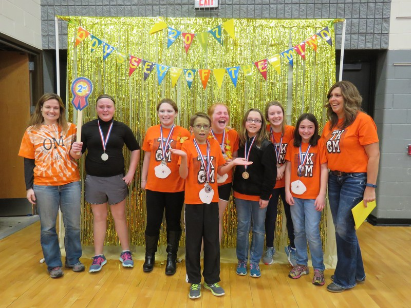 One of the TK Middle School OM teams will advance to the world finals.