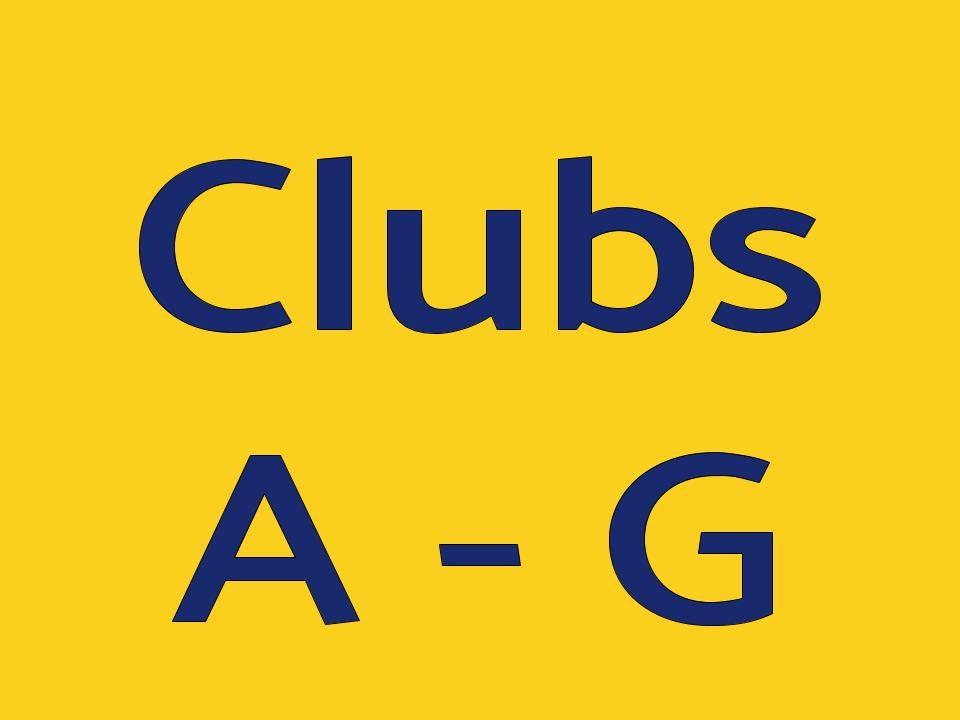 Clubs A-G