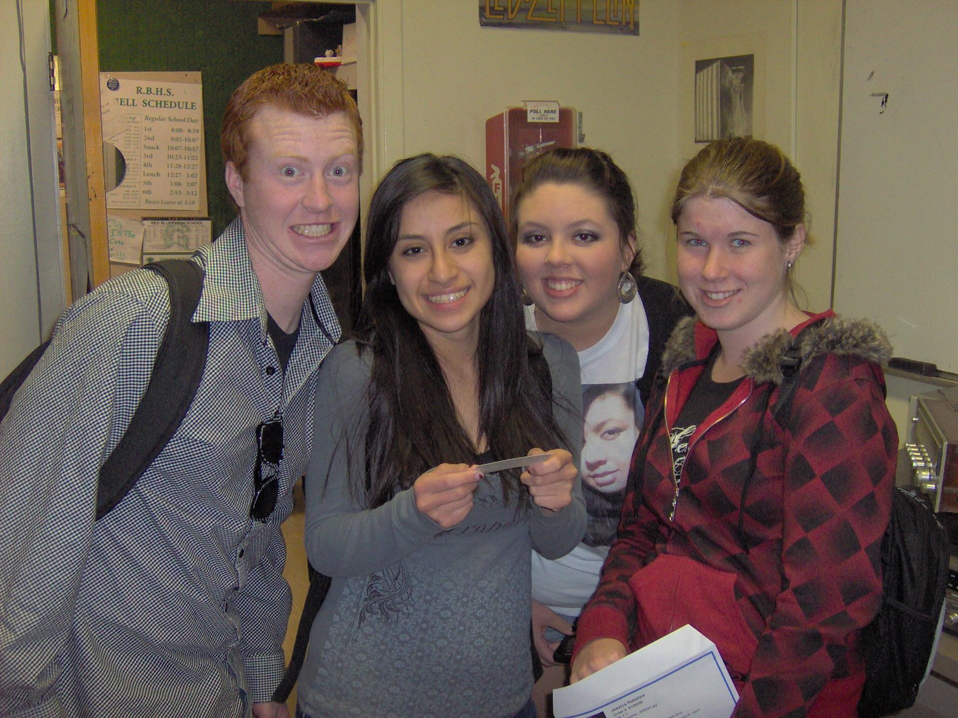 AJ, Mali, Ashley & Kayla 2010