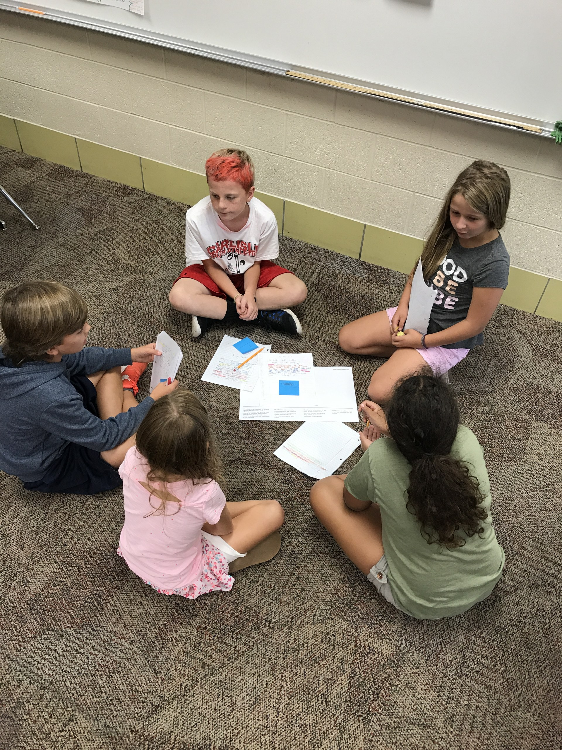 Working in continuum groups