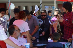 Students visited with representatives of more than 20 college and career booths during Baldwin Park Unified's 10th annual College Fair on Sept. 24.