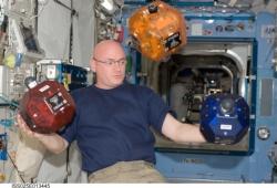 the SPHERES satellites used in the Zero Robotics competition.