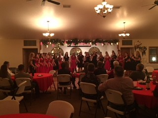 MHS singers perform at Lion's Club Christmas party Thumbnail Image