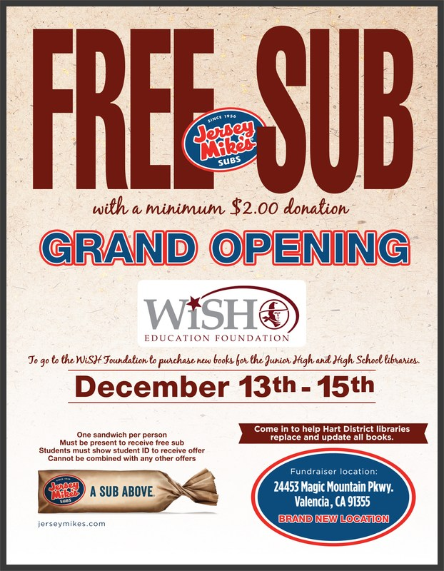 Jersey Mike's Flyer