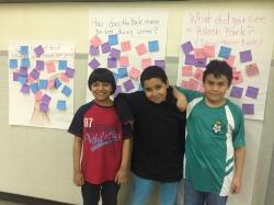 Students at program