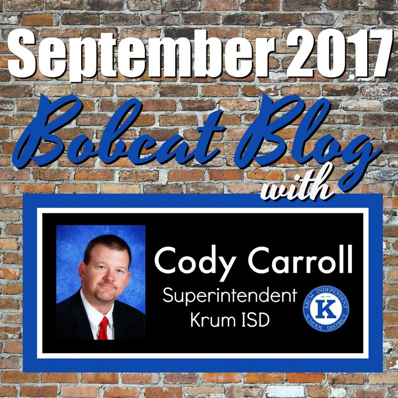 Superintendent Blog for September Thumbnail Image
