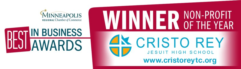 Non-Profit of the Year goes to Cristo Rey Jesuit High School! Thumbnail Image