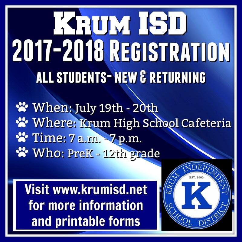 2017-2018 Student Registration Thumbnail Image