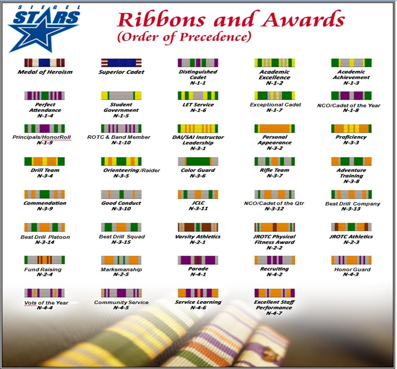 Siegel JROTC Awards