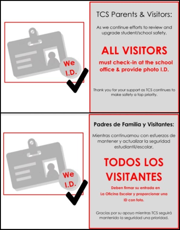 TCS Visitor Policy Image