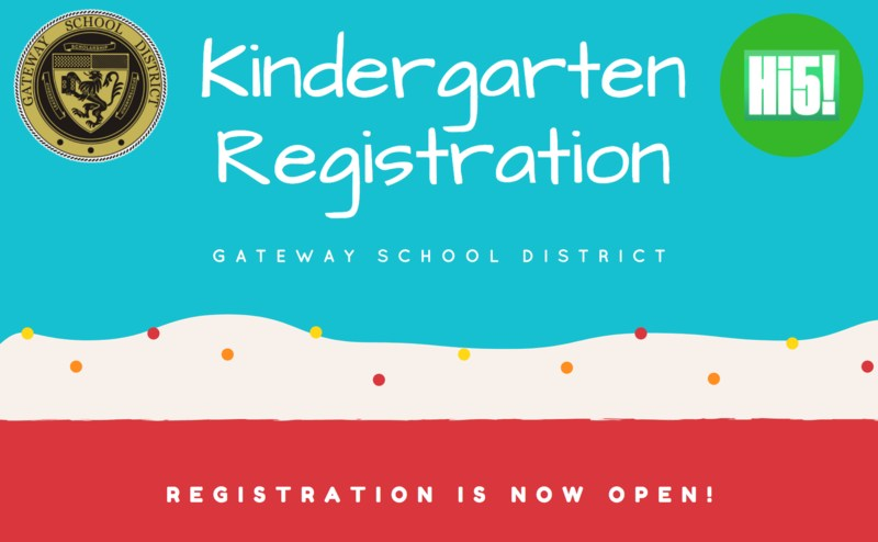 Kindergarten Registration.  Click here to register online. Thumbnail Image