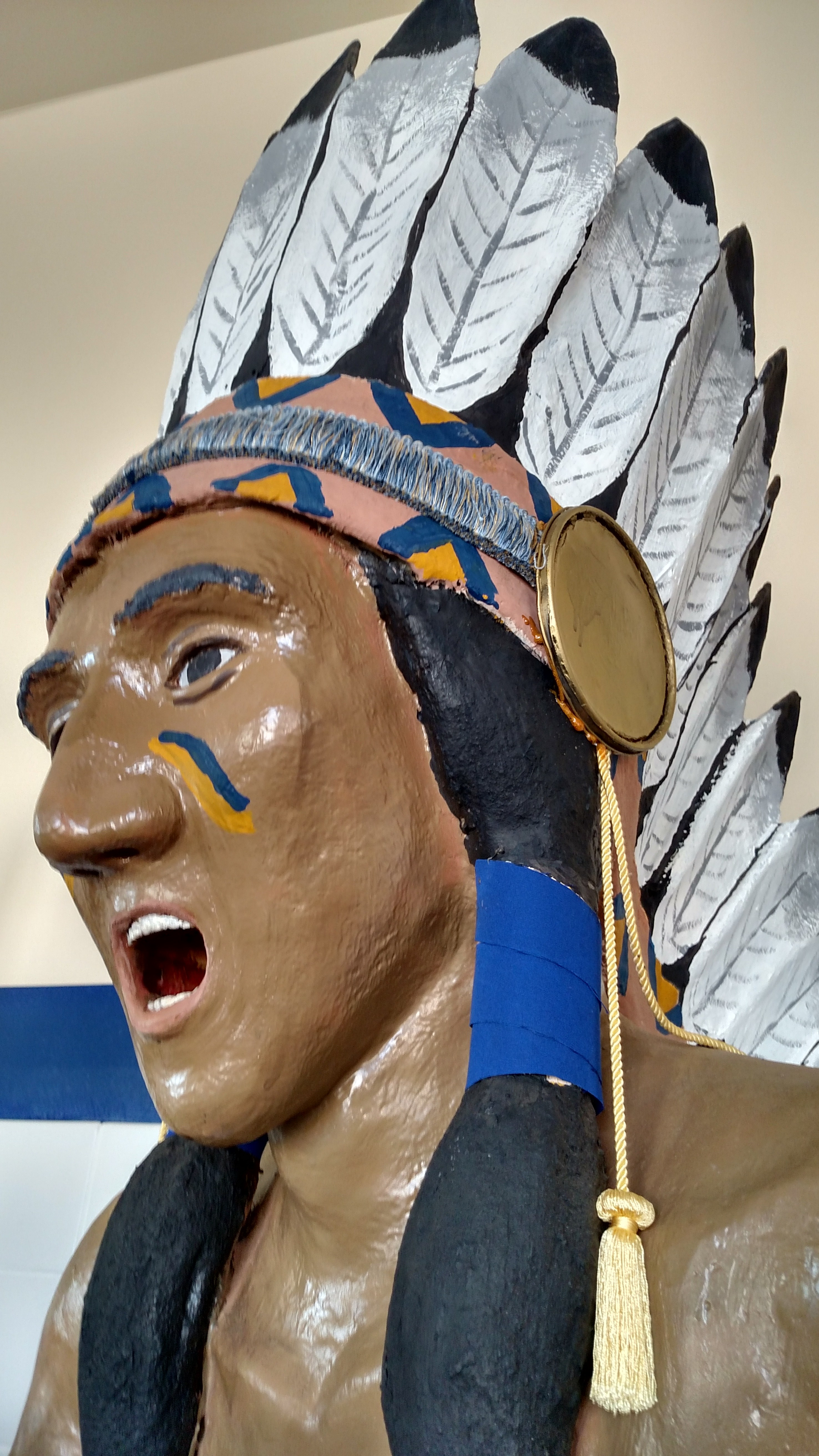 Chief Cherokee Pride in the Student Commons