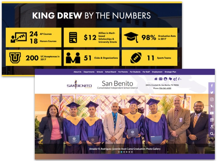 Homepage Layouts for Your School Website Design Featured Photo
